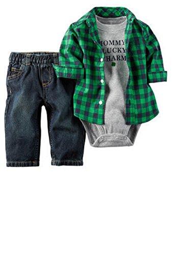 Carters Baby Patricks Shirt Piece
