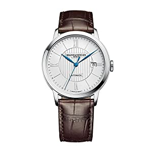 New Mens Baume & Mercier Herrenhuhr Classima Automatic 40mm Watch 10214