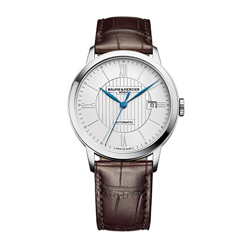 New Mens Baume & Mercier Herrenhuhr Classima Automatic 40mm Watch 10214