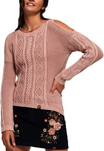 Superdry - Jerséi - para Mujer Sandy Pink