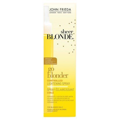 John Frieda Sheer Blonde Go Blonder Controlled Lightening - John Frieda Sheer Blond Hairspray