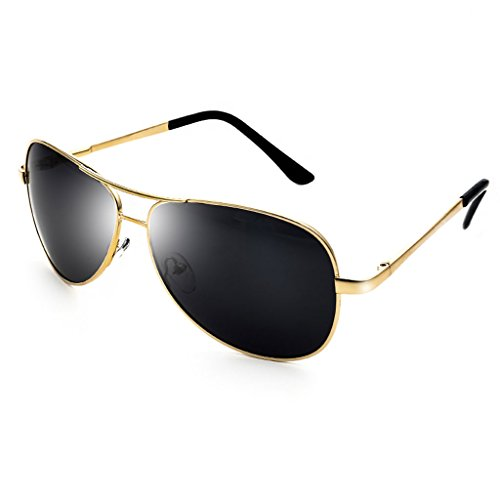 de Driving Glasses Sol Sol Oro de de Driver Polarizer La Color Plata Gafas Tide Gafas Gafas Pescar wUYqPnw0