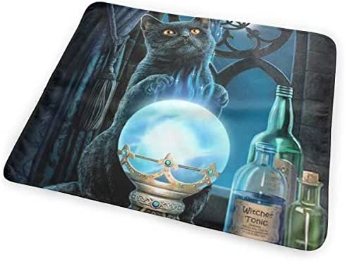 Witch Cat Dream Catcher Witches Tonic Magic Crystal Ball Changing Pad Portable Biggest Changing Mat to Change Diaper (25.5