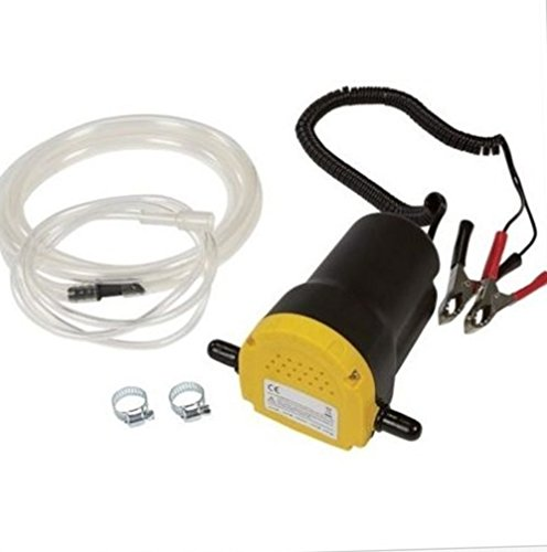 12V 5A Oil Diesel Fuel Fluid Extractor Electric Transfer Scavenge Suction Pump TKT-11