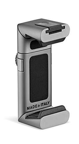 Manfrotto Universal, clamp TwistGrip Tripod Adapter Clamp for Smartphones, Silver, compact (MTWISTGRIP)
