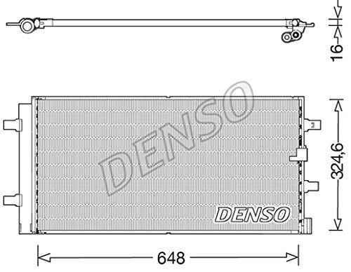 Denso Condenser Air Cooler DCN02044Condenser–Air Conditioning Condenser Air Conditioner