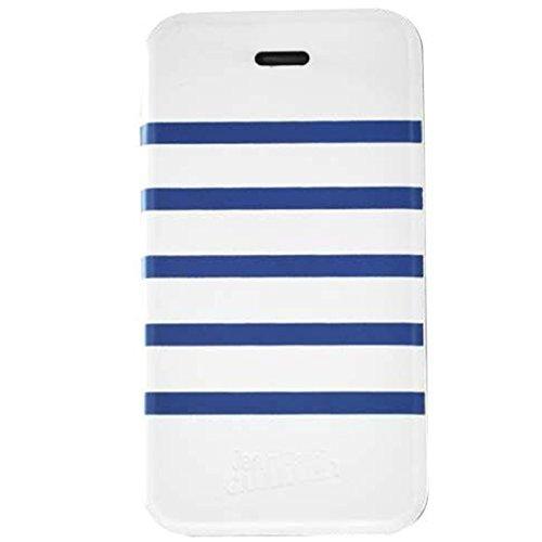 JEAN PAUL GAULTIER - Case Sailor aufklappbare Schutzhülle für iPhone 6 - weiß/blau