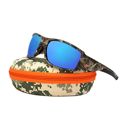 Polarized Camouflage Polarized Sports Sunglasses Unisex - Camo patterns Sun Glasses for Fishing Hunting Boating Driving Cycling Sun Glasses UV400 Shades outdoor - Bike Shades