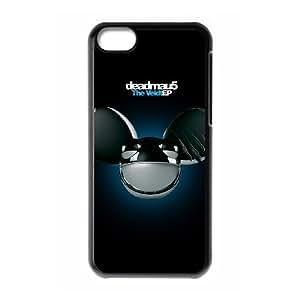 IPhone 5C Phone Case for Classic theme Deadmau5 pattern design GQCTDM900535