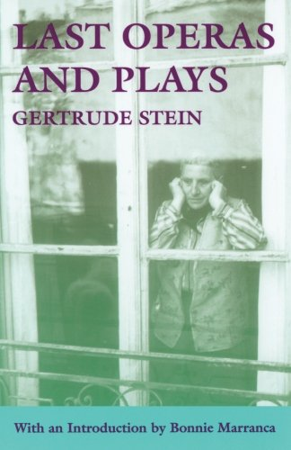 Last Operas and Plays (PAJ Books)