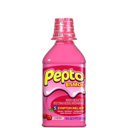 (Pepto-Bismol Liquid-Cherry-16oz (Quantity of 5))