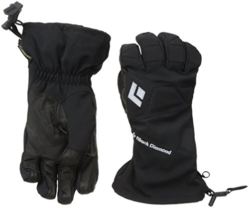 (Black Diamond Enforcer Cold Weather Gloves, Black, Large)