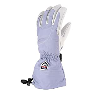 Hestra Heli Glove - Women's Ice Blue / Off White 6