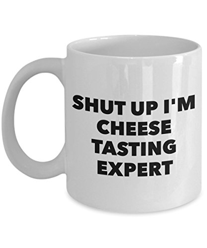 """Rabbit Smile - Gifts for Cheese Tasting Professional"""" Shut Up I"""