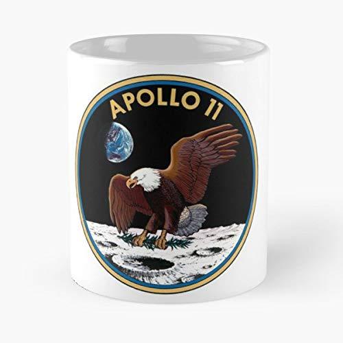 Apollo 11 Logo Emblem 50 Years Fifty Anniversary 1969 2019 - Best 11 oz Coffee Mug Cheap Gift