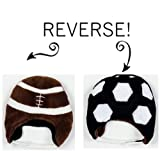 Luvali Convertibles Football/Soccer Reversible Kid's Winter Hat Small LCKDWSFS by Luvali Convertibles