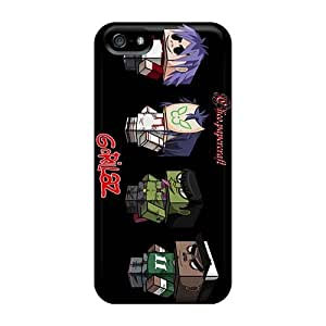 SherriFakhry Iphone 5/5s Perfect Hard Cell-phone Case Support Personal Customs Colorful Gorillaz Band Pictures [YQv20171qiRp]