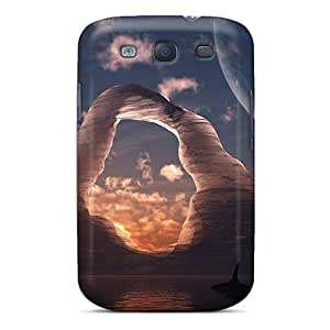 Our Melody QsGVL15667QWcSZ Case Cover Skin For Galaxy S3 (3d Nature)