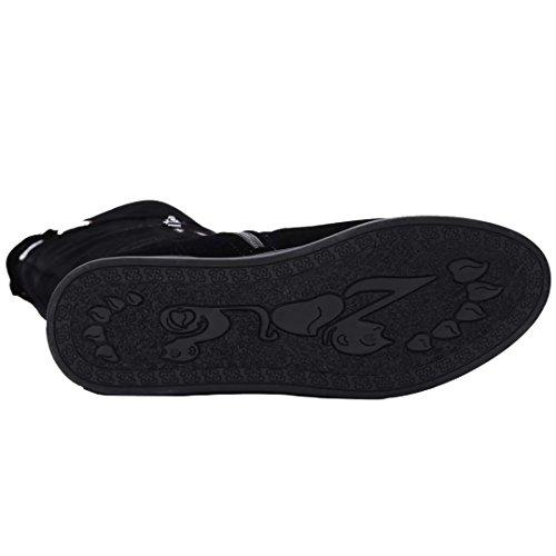 AIYOUMEI Women's Classic Boot Black a7wBskWHg