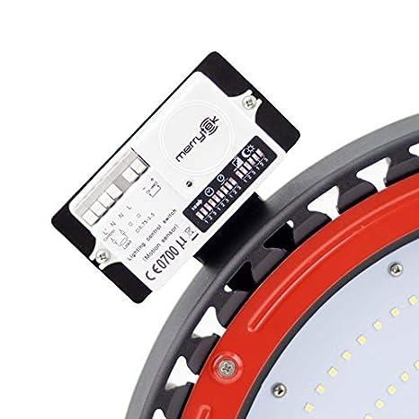 Kit Base + Sensor de Movimiento Campanas LED UFO efectoLED