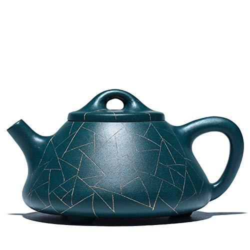 azure blue teapot set - 2