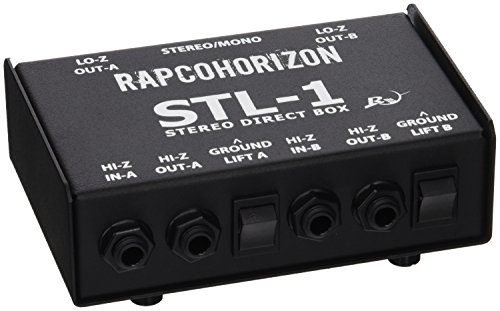- Rapco Horizon STL-1 Stereoline Passive Direct Box