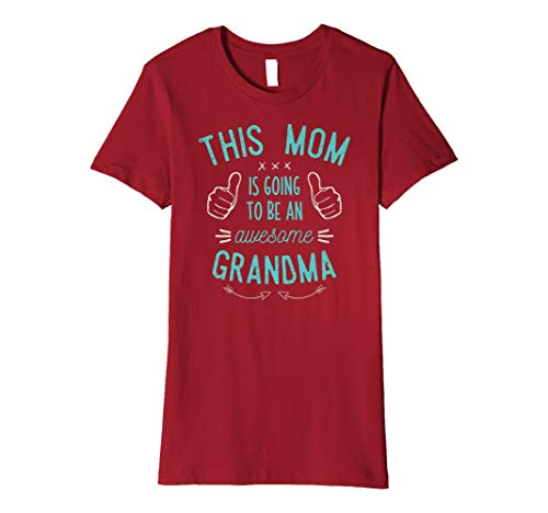 This Mom Is Going To Be A Grandma Shirt