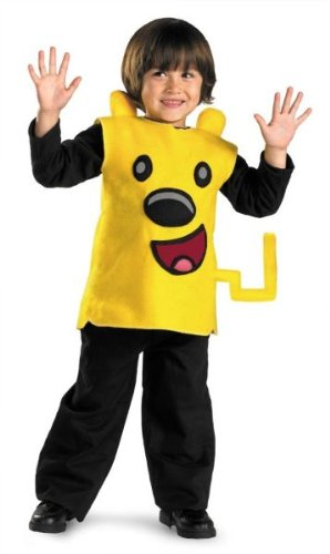 Toddler Boy'S Costume: Wubbzy Classic- 3T/4T - Product Description - Sleeveless Yellow Wubbzy Character Tunic And Detachable Tail. Supply Your Own Shirt And Pants. Toddler Child Size 3T/4T. ... -