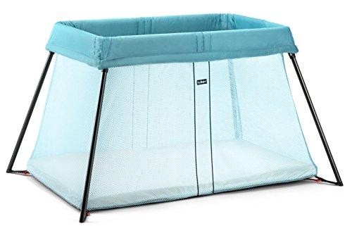 BABYBJORN Travel Crib Light Turquoise product image