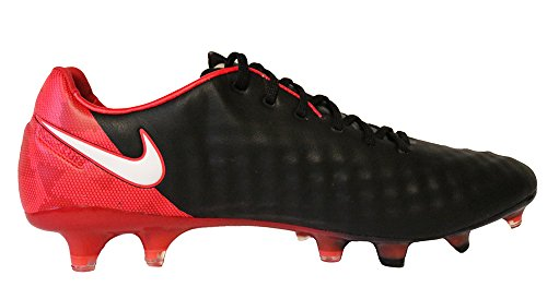 Nike Magista Opus Ii Fg Mannen Zwart Rood Voetbalschoenen Acc