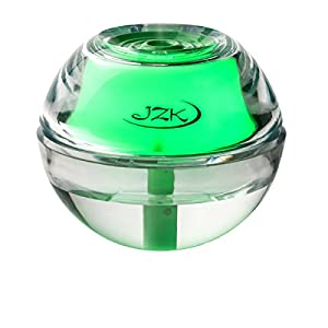24+ Hrs Green Humidifier for Allergies, Nasal Congestion, Nose Bleeds, Dry Sinuses, Sinusitis, Sinus Infection with Night Light, Auto Safety Shut-off, USB Cord, Adapter and Filter by JZK