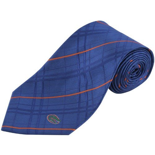 NCAA Florida Gators Royal Blue Oxford Woven Tie
