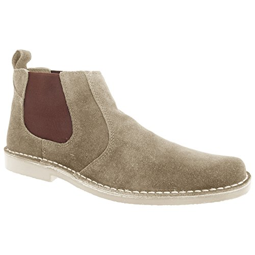 Desert Mens Taupe Real Roamer Boots Suede Classic xHfFPv
