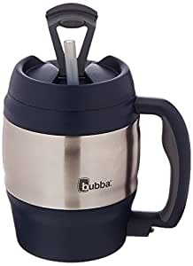 Amazon Com Bubba 52 Oz Mug Classic Black With Gray Bubba