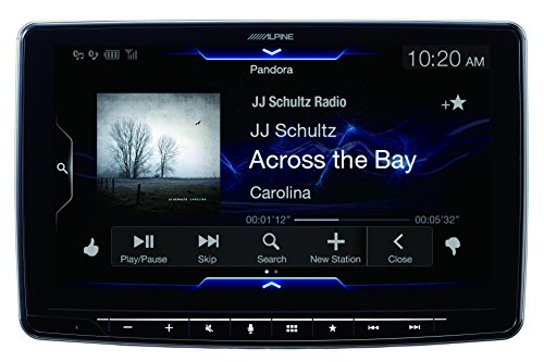 Alpine iLX-F309 HALO9 9'' AM/FM/audio/video Receiver w/ 9-inch Touch Screen and Mech-less Design - Single-DIN Mounting by Alpine (Image #6)'