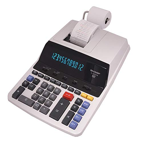 Sharp EL-2630PIII Two-Color Printing Calculator 4.8 Lines/Sec 4
