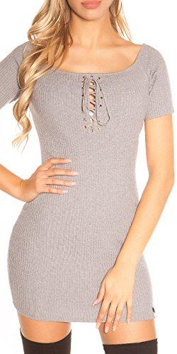 KouCla - Vestido - para mujer gris