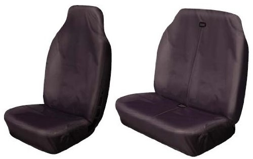 Cosmos Heavy Duty Waterproof Seat Covers, Black