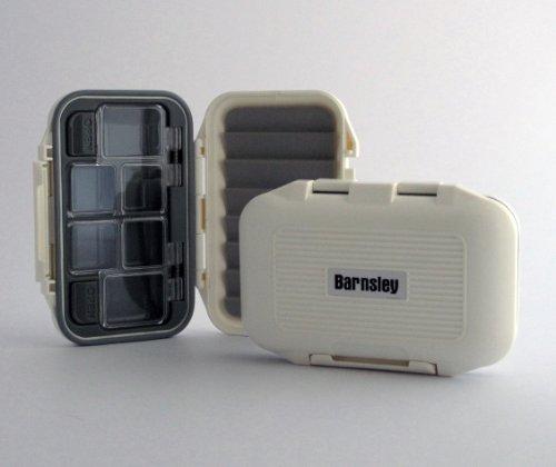 (Barnsley Plastic Waterproof Fly Box - White )