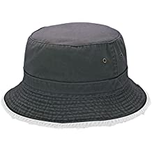 Hats & Caps Shop Cotton Twill Heavy Washed Bucket Hat - By TheTargetBuys