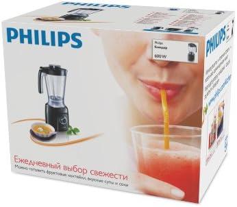 Philips HR2160/50 Licuadora con Pulso y picador de Hielo, 600 Watt ...