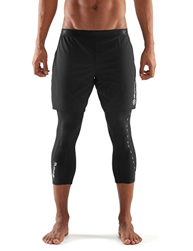 SKINS Men's Dynamic 3/4 Superpose Compression Tights