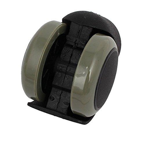 Rosca DE 2 pulgadas de diámetro de la PU de Doble rueda Con rosca Stem 2pcs Presidente eDealMax Oficina M10 Rueda giratoria: Amazon.com: Industrial & ...
