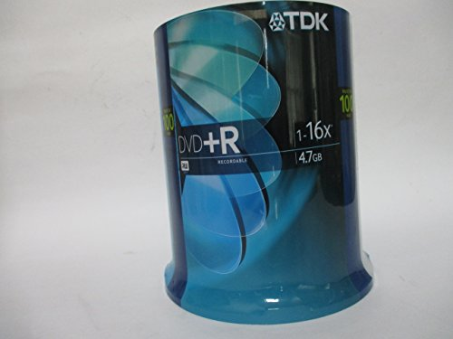 TDK 4.7G 16x DVD+R Recordable Disc