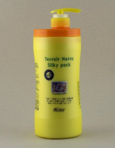 (Terroir Natto Silky Pack Hi Power LPP Conditioner (1000g) by Hair Food)