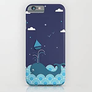 Society6 - Ahab And The Whale iPhone 6 Case by Matt Andrews wangjiang maoyi