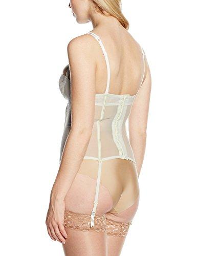 Wonderbra Refined Glamour Basque, Corsé Para Mujer blanco roto (marfil)