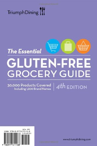 (The Essential Gluten-Free Grocery Guide by Triumph Dining Gluten-Free Publishing (2010) Paperback )