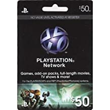 PSN PLAYSTATION Network Card $50 (北米版:プレイステーションネットワークカード)