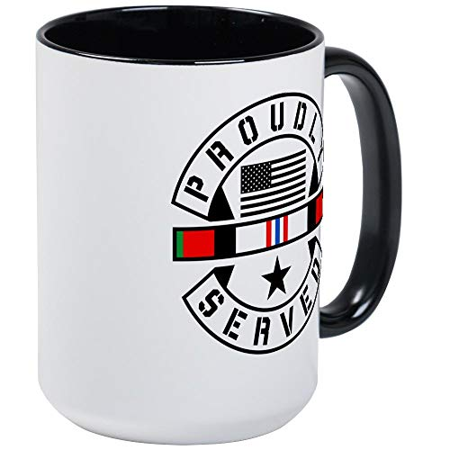 (Afghanistan War Proudly S - 11oz RINGER Coffee Mug, Ceramic 11oz Coffee Cup)